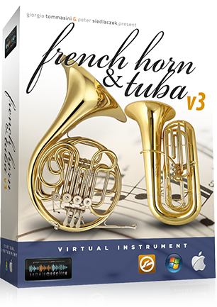 Samplemodeling French Horn & Tuba 3
